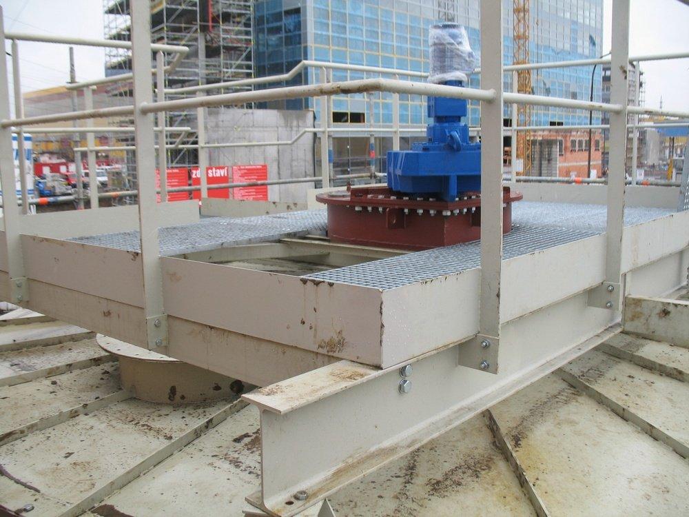 CEZ Ledvice<br />Transmission for raker.